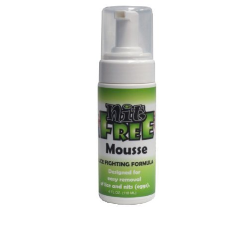 Lice and Nit Eliminating Natural Mousse with Foam Applicator Kit