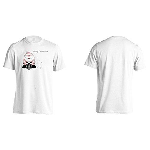 Neue Frohe Weihnachtsfeier Herren T-Shirt l607m