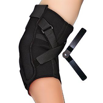 Black Hinged Elbow Hyperextension Prevention Brace by (Thermoskin Hinged Elbow)