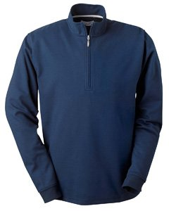 Ashworth Men's Micro Brushed Half-Zip Jacket, NAVY, XXX-Large