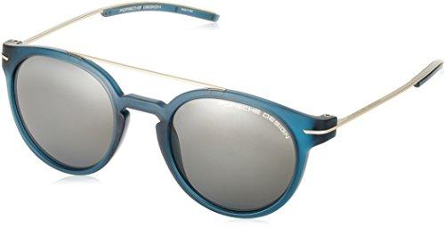 Porsche Design Men's P8644 P/8644 Round Sunglasses 50mm