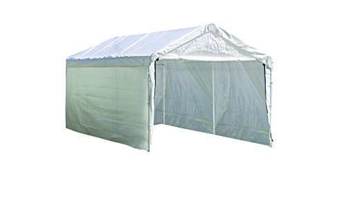 - ShelterLogic SuperMax Enclosure Kit, 10 x 20 ft. (Frame and Canopy Sold Separately)