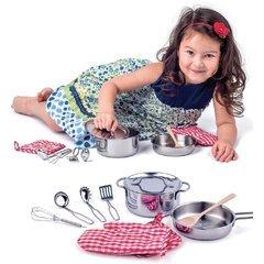 Woodyland 102191879おもちゃキッチンセット鉢セット10個入り、多色   B07DJWK21S