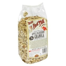 Bob's Red Mill Apple Blueberry No Fat Granola - 12 oz