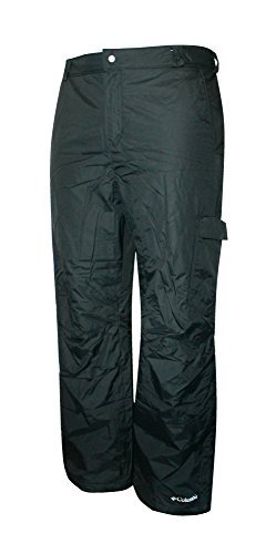 Columbia Mens BULL LAKE Ski Snowboard Waterproof Black Pants (XXL)
