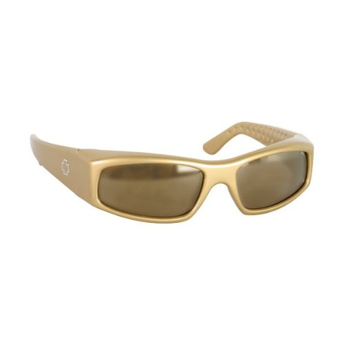 Spy Optic MC McGrath Sunglasses Clear Brown / Bronze Lens (Sunglasses Spy Crystal)