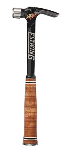 UPC 034139679127, Estwing E19S 19 oz Black Ultra Framing Hammer with Smooth Face & Leather Grip