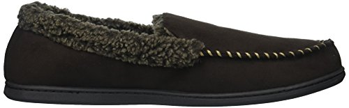 Suede Wide with Detail Men's Dearfoams Whipstitch Moccasin Coffee Width tSHw6xFq