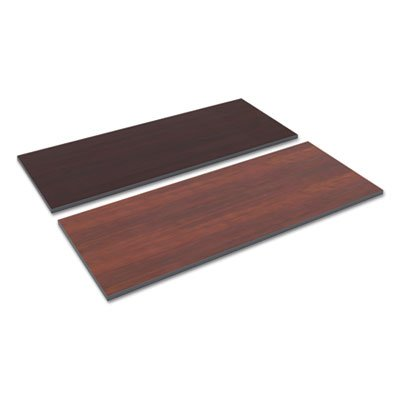 Alera TT6024CM Reversible Laminate Table Top, Rectangular, 59 1/2w X 23 5/8,med Cherry/Mahogany