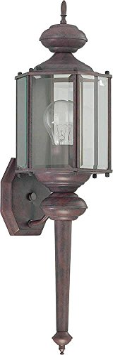 Collection Cobblestone 1 Light (1-Light Outdoor Wall Lantern, 25