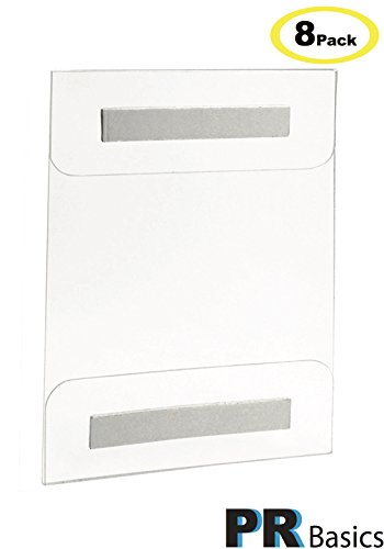 acrylic-sign-holder-wall-mount-85-x-11-inches-with-adhesive-tape-8-pack-no-drilling