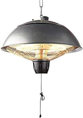 TronicXL IP24 - Estufa eléctrica para jardín, terraza, balcón, Techo, Montaje: Amazon.es: Jardín