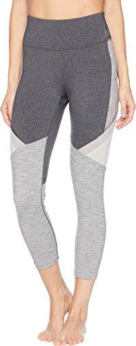 New Balance Women's High-Rise Transform Pocket Crop Pants Heather Charcoal/Sea Salt Heather/Grey Heather X-Small 23 23 ()