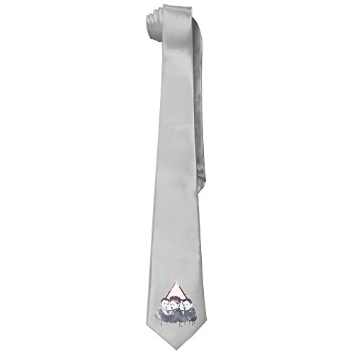 [Ggift 30 Seconds To Mars Men's Fashion Business Solid Necktie Ties] (30 Second Costumes)