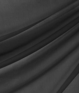 118 Inch Black Voile Fabric - by the Yard by Online Fabric Store   B00I80LJCM