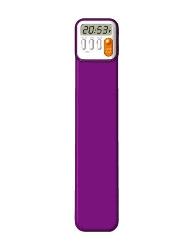Mark My Time Purple Digital Bookmark Reading product image