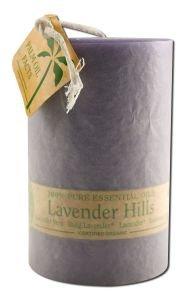 Aloha Bay Lavender Hills (Palm Pillar Candle)