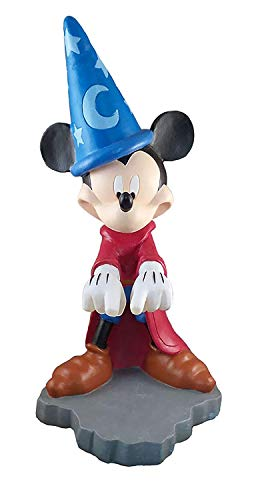Design International Group Disney Mickey Fantasia Casting Spell Solar LED Garden Statue -