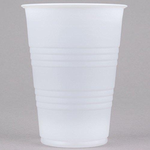 Dart Y10 Conex Galaxy 10 oz. Translucent Plastic Cold Cup - 100/Pack