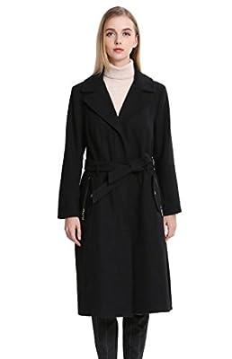 Vero Viva Women's Wool Over Coat Warm Detachable Fur Winter Size 2-18