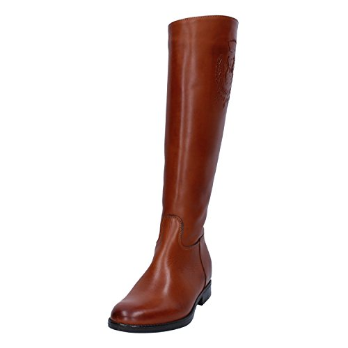 tendenza marrone in pelle Stivali di 5wIUqBRv