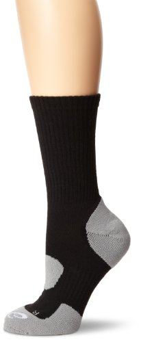 ASICS Team Performance Crew Sock Socks, Black, Large