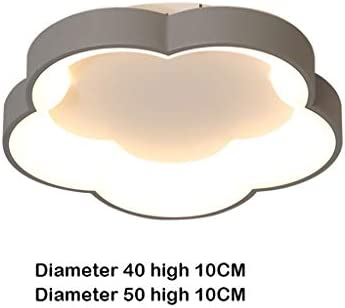 Modern Close to Ceiling Lamp Simple and Modern LED Flower Ceiling Lamp for Living Room Dining Room Balcony Aisle Flush Mount Ceiling Lights (Color : Huang Guang)