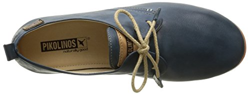 Pikolinos Calabria 917 Vrouwen Lace Up Brogues Blauw - Blauw (ocean Blue)