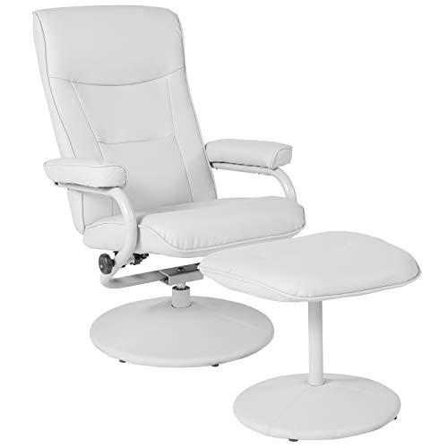 Flash Furniture BT-70621-WHT-GG Recliners, White Vinyl
