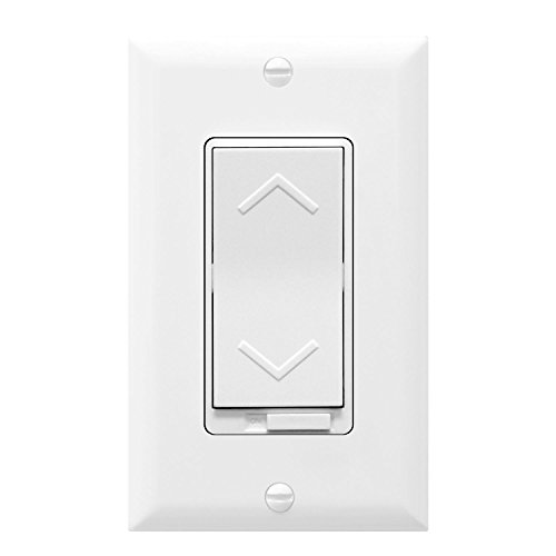 TOPGREENER Dimmer Switch TGDS-120 150W Dimmable LED/CFL | 600W Incandescent and Halogen, Neutral Wire Required, 3 Way Smart Switch| Electrical, 120VAC, White