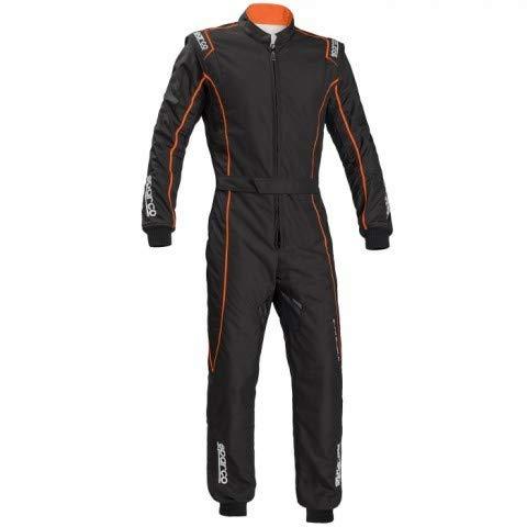 SPARCO (スパルコ) レーシングスーツ GROOVE KS-3 KIDS サイズ/120 カラー/BLACK/ORANGE 002334NRAF120 B07M7F573M