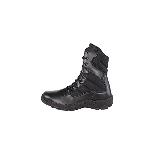 Zip Nylon Black CONDOR Fabric 8'' Leather Professional Tactical Bailey Men's Waterproof Boots xBB1E