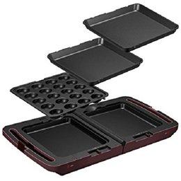 家電 キッチン家電 ホットプレート アイリスオーヤマ 両面ホットプレート DPO133 -ak [簡易パッケージ品] B07D1BSDD4