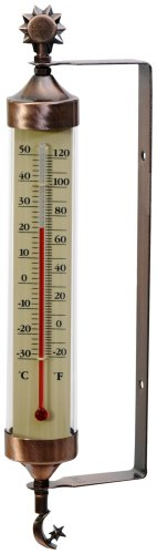 AcuRite Weathered Copper Thermometer Accents