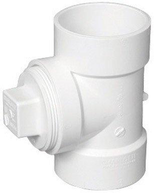 MUELLER INDUSTRIES GIDDS-92112 DWV PVC Test Tee With Plug 3