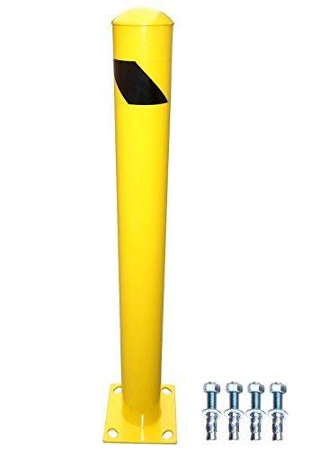 YM M2382 Steel Pipe Safety Bollard, 4-1/2'' OD, 42'' Height by YM