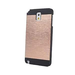 DUR Brushed Aluminum Hard Case for Samsung Note3 , Black