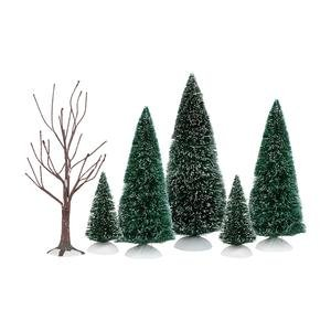 Holiday Special Landscape Set | Department 56 Accessory (Set of 6) (4035919) by Department 56