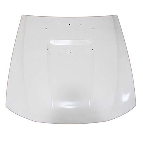 01-04 Mustng 3.8L/4.6L Front Hood Panel Assembly Primed Fiberglass w/Scoop Type