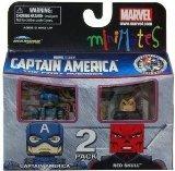 Marvel MiniMates Series 40 Mini Figure 2Pack Captain America Red Skull