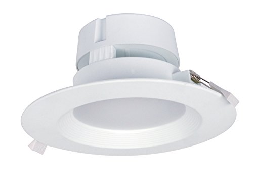 Satco S9028 LED Wet Location Downlight with Integrated IC Rated J-Box for Direct Wire, 6 inch