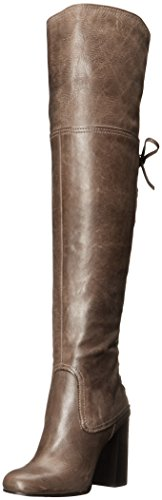Vince Camuto Women's Tolla Western Boot, Bomber Grey, 9.5 M US by Vince Camuto