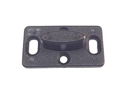 Guida in acciaio al carbonio con ruotina regolabile accessori per la casa da parete o pavimento supporto inferiore per porte scorrevoli