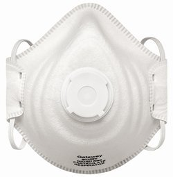 Peakfit N95 Particulate Respirator with Vent, 95% Filtration