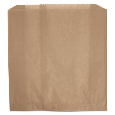 (Rubbermaid Commercial 6141 Waxed Napkin Receptacle Liners, Brown)