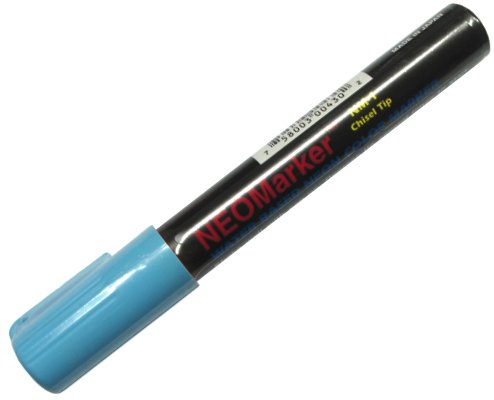 NeoMarker Waterproof Fluorescent Marker - Blue Chisel Tip Photo #1