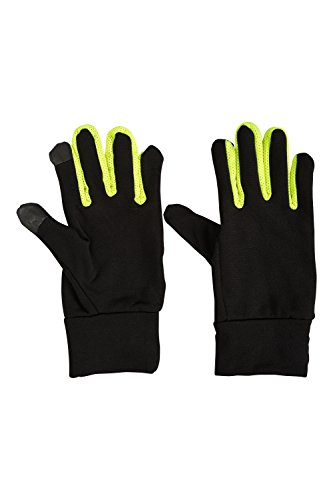 Mountain Warehouse Force Mens Running Gloves - for Cycling & Gym Black Small/Medium