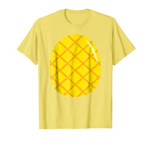 Pineapple Costume T-Shirt - Easy Cheap Last Minute Halloween