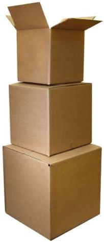 100 8 x 8 x 5 cajas de cartón envío cartones embalaje movimiento ...
