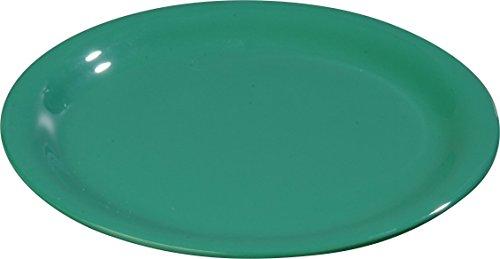 - Carlisle 3300609 Sierrus Narrow Rim Melamine Salad Plates, 7.25